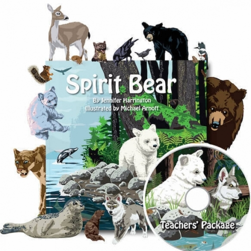 Spirit bear book teachers package with dvd