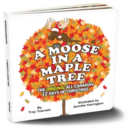 moose in a maple tree book cover