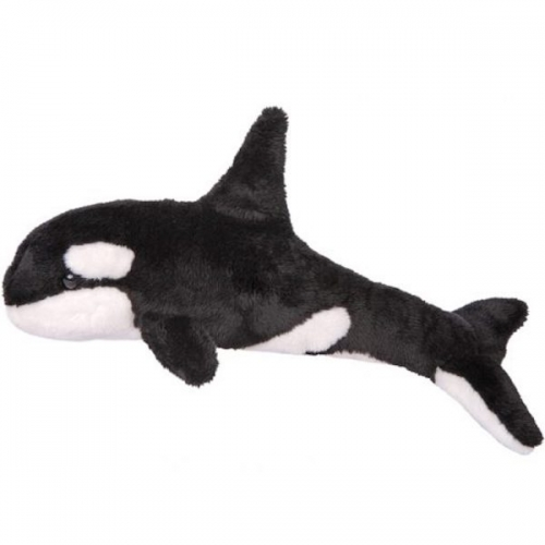 Orca stuffed fluffy toy