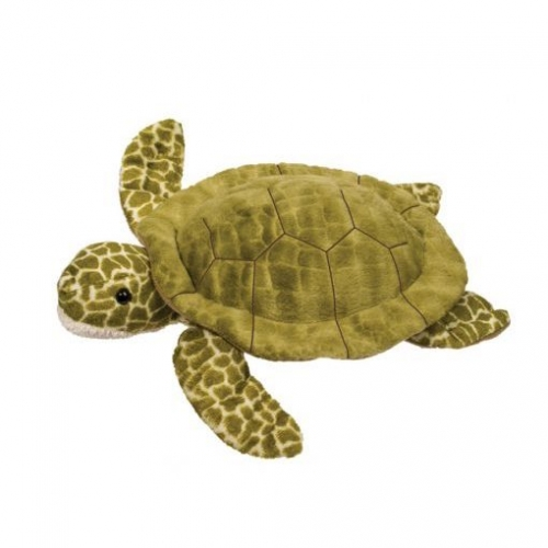 fluffy stuffed turtle toy